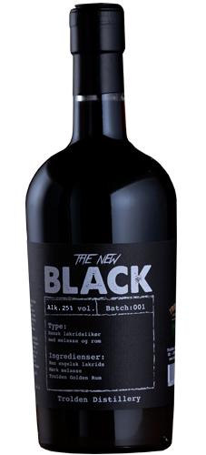 The New Black (Lakritz-Likör) 500ml